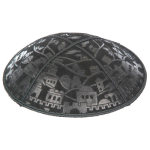 Embossed Pattern Yarmulke BE-84in Bulk