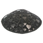 Embossed Pattern Yarmulke BE-95 in Bulk