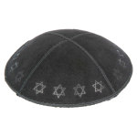 Embossed Pattern Yarmulke BE-98 in Bulk