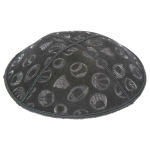 Embossed Pattern Yarmulke BE-93 in Bulk