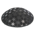 Embossed Pattern Yarmulke BE-92 in Bulk